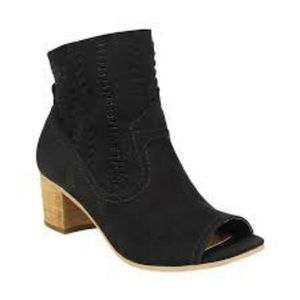 Not Rated Open Toe Booties size 6.5